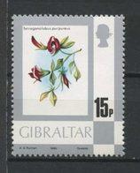 Gibraltar 1980 N° 415 ** Neuf MNH Superbe C 4 € Fleurs Tetragonolobus Purpureus Série Courante - Gibraltar