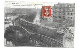 75/ PARIS.. 75019 PARIS XIXe...Vue Générale Du Métropolitain. Boulevard De Grenelle, Vers Passy - District 15