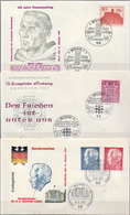 Germany 3 FDCs From 1967 - [7] Federal Republic