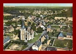 Saint Aubin D'ecrosville * Vue Générale  * Scan Recto Et Verso - Saint-Aubin-d'Ecrosville