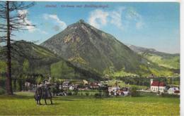 AK 0303  Almtal - Grünau Mit Zwillingskogel / Verlag Windischbauer Um 1911 - Gmunden