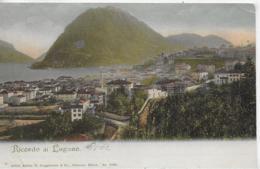AK 0303  Ricordo Di Lugano Um 1902 - TI Tessin