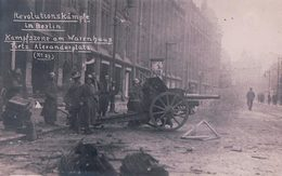 Allemagne, Revolutionskämpfe In Berlin, Alexanderplatz (225) - Ereignisse