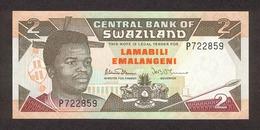 Swaziland 2 Lamabili 1992 Pick 18 UNC - Swaziland