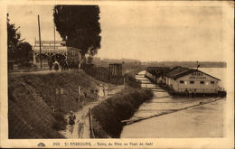 67  STRASBOURG  Baind Du Rhin Au Port De Kehl - Strasbourg