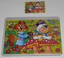 PUZZLE  KINDER SUPRISE  - K.96 Nº 123 - Puzzles