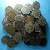 Portugal Lot 50 Coins 10 And 20 Reis D. Luiz And D. Carlos - Vrac - Monnaies