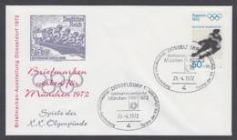 Germany-BRD - Sonderkuvert-Beleg - Briefmarken Werben Für München - Olympiade 72 - MiNr. 683 - SSt. Düsseldorf - Summer 1972: Munich