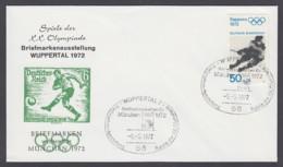 Germany-BRD - Sonderkuvert-Beleg - Briefmarken Werben Für München - Olympiade 72 - MiNr. 683 - SSt. Wuppertal - Summer 1972: Munich