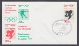 Germany-BRD - Sonderkuvert-Beleg - Briefmarken Werben Für München - Olympiade 72 - MiNr. 686 - SSt. Salzgitter - Summer 1972: Munich