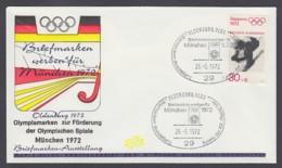 Germany-BRD - Sonderkuvert-Beleg - Briefmarken Werben Für München - Olympiade 72 - MiNr. 682 - SSt. Oldenburg - Summer 1972: Munich