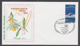 Germany-BRD - Sonderkuvert-Beleg - Briefmarken Werben Für München - Olympiade 72 - MiNr. 722 - SSt. Rheydt - Summer 1972: Munich