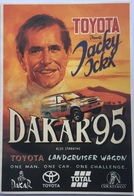 (904) Toyota - Dakar 95 - Jacky Ickx - Total - Cricket & Co - 201 - Publicité