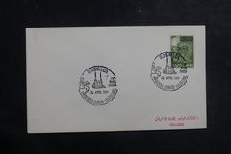 DANEMARK - Oblitération Temporaire Sur Enveloppe En 1956 - L 39921 - Cartas