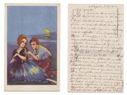 Cartolina Illustrata Dell'anna Gasparini 575-5 Viaggiata A Mano 1928 (A) - Illustrateurs & Photographes