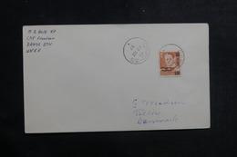 """DANEMARK - Oblitération """" CFPO 35 """" Sur Enveloppe En 1957, Affranchissement Plaisant ( Surchargé ) - L 39922 - Danemark"""