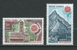 ANDORRE FRANÇAIS 1978 . N°s 269 Et 270 . Neufs ** (MNH) - Andorre Français