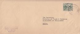 Bangladesh  Handstamp  1972  Cover  Barisal To Dacca #  20556  D Inde India - Bangladesh