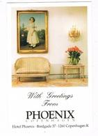 SC-1831   COPENHAGEN : Hotel Phoenix ( With Painting C.A. Jensen) - Danemark