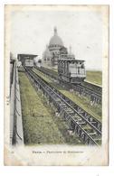 75/ PARIS.. 75018 PARIS XVIIIe...Funiculaire De Montmartre... Cliché Colorisé - Arrondissement: 18