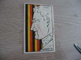 Chromo Ancien Publicitaire Chocolat Revillon Silhouettes Modernes Albert 1er - Revillon