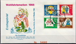Germany Set On FDC From 1966 - Fairy Tales, Popular Stories & Legends