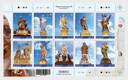 H01 Malta  Maltese Festa Series III 2019 Sheetlets - Malta (Orden Von)