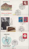 Germany 3 FDCs From 1966 - [7] Federal Republic