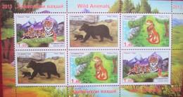 Tajikistan  2013   Fauna  Wild Animals   M/S  MNH - Tajikistan