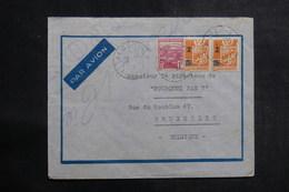 ALGÉRIE - Enveloppe De Alger Pour Bruxelles En 1945, Affranchissement Plaisant - L 39937 - Briefe U. Dokumente