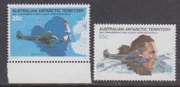 AAT 1980 First Flight Over South Pole 2v ** Mnh (44291) - Australisch Antarctisch Territorium (AAT)