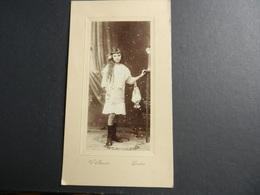 12.1) FOTOGRAFIA BAMBINA IN PIEDI FOTOGRAFO MENOTTI SVIZZERA LOCARNO - Identifizierten Personen