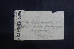 CANADA - Enveloppe De Acton Pour La Belgique En 1945 Avec Contrôle Postal , Affranchissement Disparu - L 39939 - 1937-1952 Règne De George VI