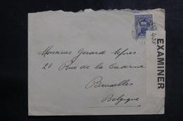 ARGENTINE - Enveloppe Pour La Belgique Avec Contrôle Postal , Affranchissement Plaisant - L 39940 - Argentina