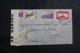 ARGENTINE - Enveloppe En Recommandé Pour Londres En 1941 Avec Contrôle Postal , Affranchissement Plaisant - L 39941 - Argentina