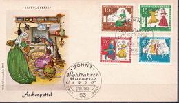Germany Set On FDC From 1965 - Fairy Tales, Popular Stories & Legends
