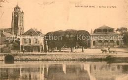 13562216 Nogent-sur-Seine La Tour Et La Halle Nogent-sur-Seine - Nogent-sur-Seine