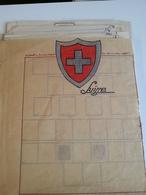 LOT N° 796  SUISSE   Un Vrac Sur Page D'albums Obl. - Stamps