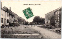 08 LUCQUY - Grande Rue - France