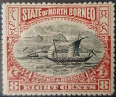 NORTH BORNEO - MLH - Sc# 85 - North Borneo (...-1963)