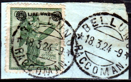 Italia-A-0068 - Emissione 1924 (o) Used - Senza Difetti Occulti. - Usati