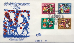 Germany Set On FDC From 1964 - Fairy Tales, Popular Stories & Legends