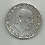 Piece En Argent 1966  100 Pesetas - [ 5] 1949-… : Kingdom