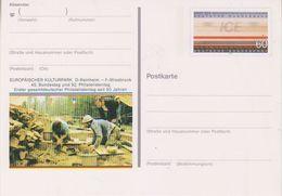 "Germany 1991 ICE Postal Stationery ""Europäischer Kuturpark"" Postal Stationery Unused (44296) - Europese Gedachte"