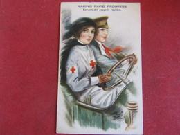 Croix-Rouge - Making Rapid Progress - Faisant Des Progrès Rapides - Croix-Rouge