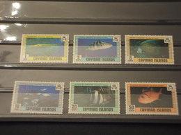 CAYMAN - 1979 PESCI 6 VALORI - NUOVI(++) - Cayman (Isole)