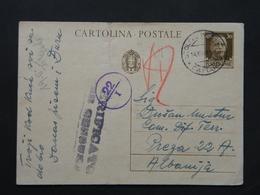 WW2 - ITALY OCCUPATION OF MONTENEGRO 1941- STOLIVO - CATTARO -  - CENSURA - 9. Besetzung 2. WK (Italien)