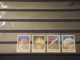 MALAYA - 1997 CORALLI 4VALORI - NUOVI(++) - Malesia (1964-...)