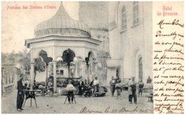 Salut De BROUSSE - Fontaine Des Sttations D'oulou - Turquie