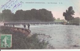 CPA -  976.  ANDRESY-DENOUVAL -  Le Barrage - Andresy